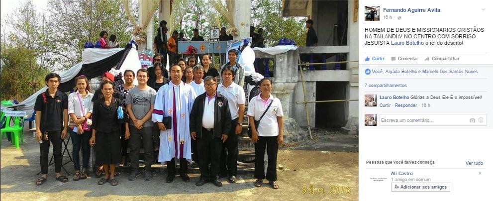 Como Ser Um Missionário na Tailandia