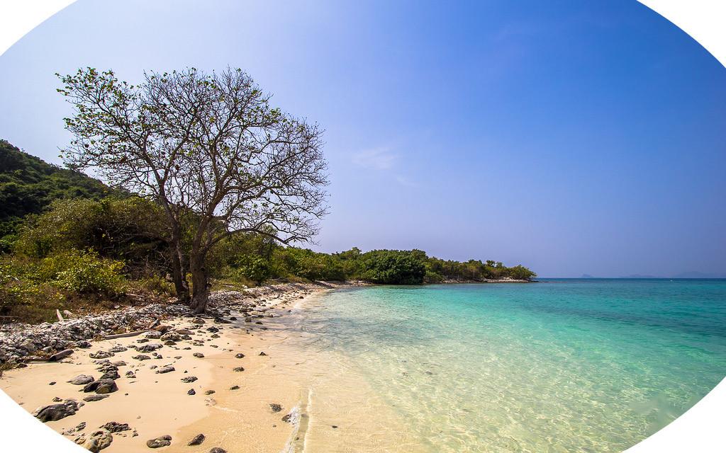 Ilha Kho Kham Tailandia Sem Turista Praia Paradisiaca