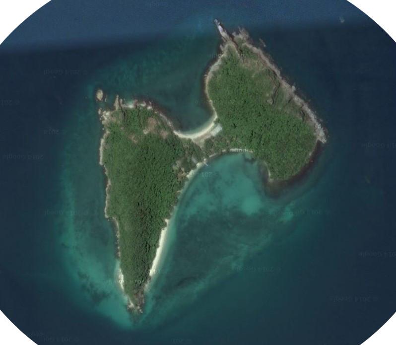 Ilha Kho Kham Tailandia