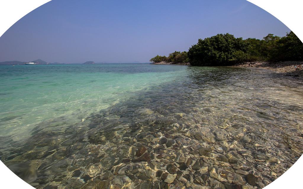 Praia Paradisíaca Ilha Kho Kham Sattahip Tailandia
