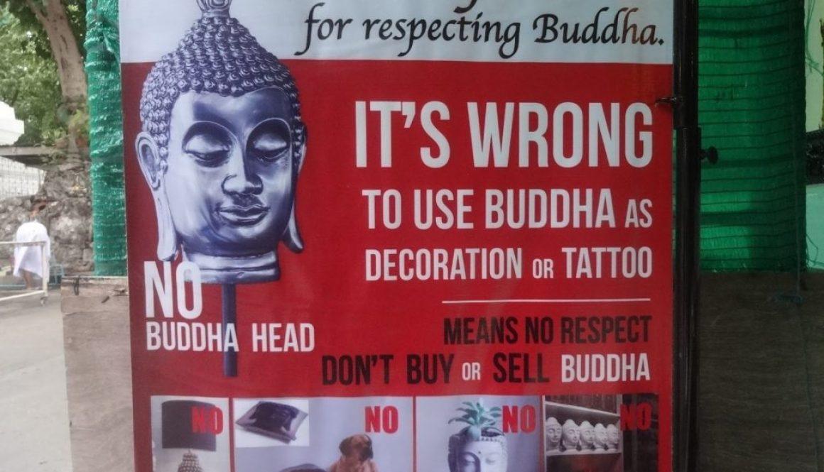 Turista tatua buda é deportado por ser proibido