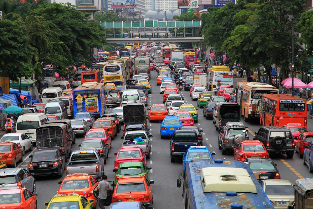 Bangkok 2° Cidade Mais Congestionada do Mundo